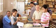 Behindertenwohnheim, -vorschule und -werkstatt in Bayad