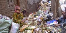 Müllsammler in Ezbet En-Nawwar / Kairo